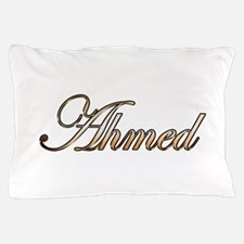 Gold Ahmed Pillow Case
