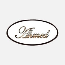 Gold Ahmed Patch