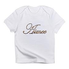 Gold Aimee Infant T-Shirt