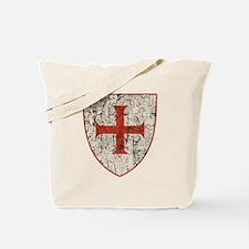 Templar Cross, Shield Tote Bag