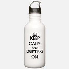 Keep Calm and Drifting Water Bottle