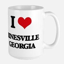 I love Hinesville Georgia Mugs