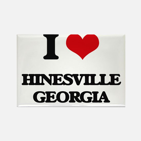 I love Hinesville Georgia Magnets