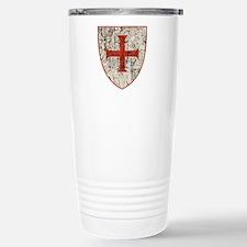 Templar Cross, Shield Travel Mug