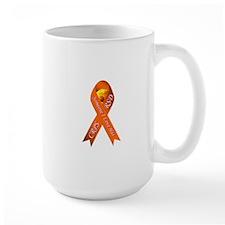 Someone I Love has CRPS -HR- Orange Ribbon Wh Mugs