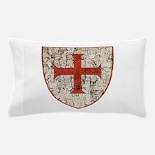 Templar Cross, Shield Pillow Case