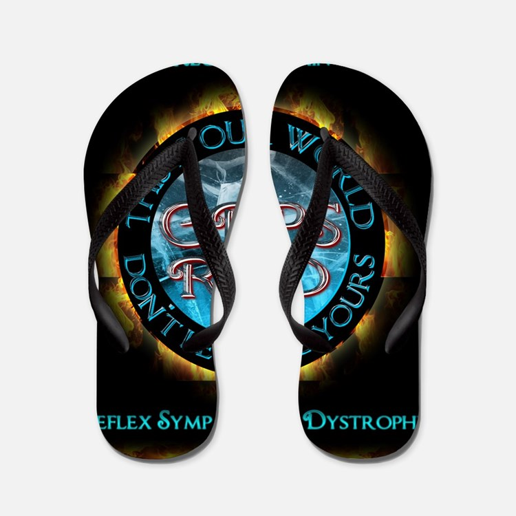 CRPS RSD This IS Our World Don't Let It Flip Flops