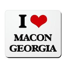I love Macon Georgia Mousepad