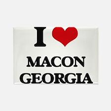 I love Macon Georgia Magnets