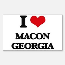 I love Macon Georgia Decal