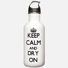 Keep Calm and Dry ON Water Bottle