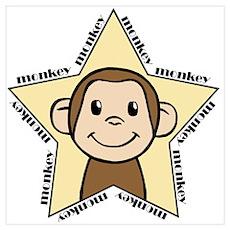 MonkyStar Poster