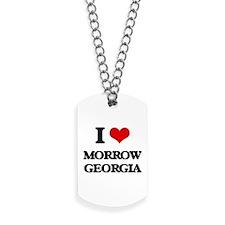 I love Morrow Georgia Dog Tags