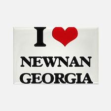 I love Newnan Georgia Magnets