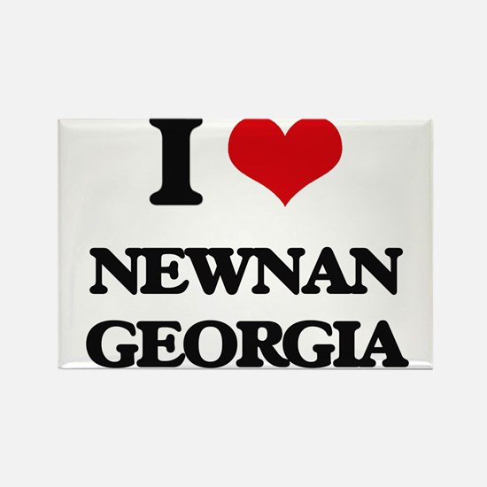 I love Newnan Georgia Magnets