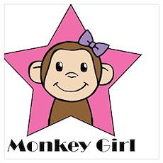 MonkyGirl Poster