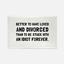 Funny Forever love Rectangle Magnet