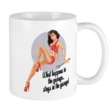 Unique Hot rod girl Mug
