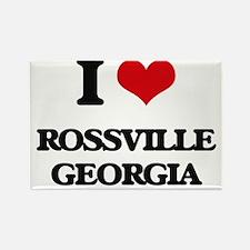 I love Rossville Georgia Magnets