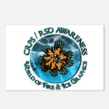 CRPS RSD Awareness World Postcards (Package of 8)