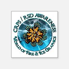 CRPS RSD Awareness World of Fire Ice Sticker