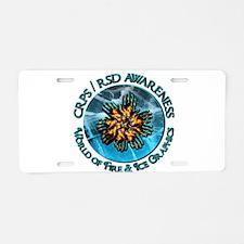 CRPS RSD Awareness World o Aluminum License Plate