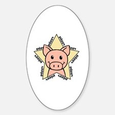Pig Star Decal