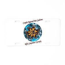 CRPS RSD Awareness Blazing Aluminum License Plate