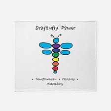 Dragonfly Power Adaptability Throw Blanket