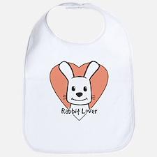 Rabbit Lover Bib