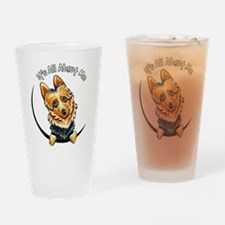 Australian Terrier IAAM Drinking Glass