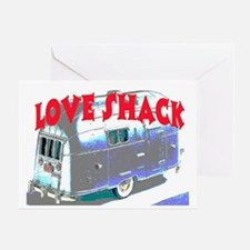 LOVE SHACK (TRAILER) Greeting Card