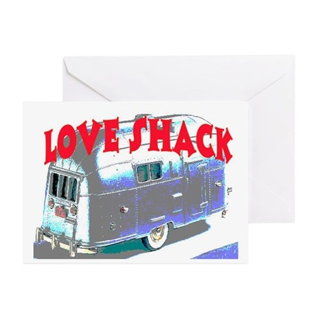 LOVE SHACK (TRAILER) Greeting Cards (Pk of 20)