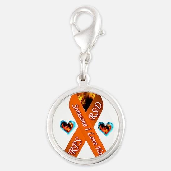 Someone I Love has CRPS RSD Orange Ribbon W Charms