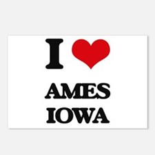 I love Ames Iowa Postcards (Package of 8)