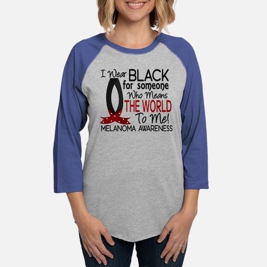 Means World To Me 1 Melanoma Long Sleeve T-Shirt