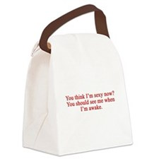 Unique I hate you Canvas Lunch Bag