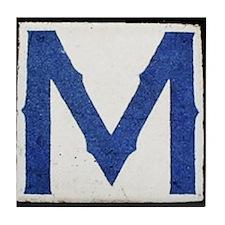 M ~ N.O. Street Tile Replicas Tile Coaster