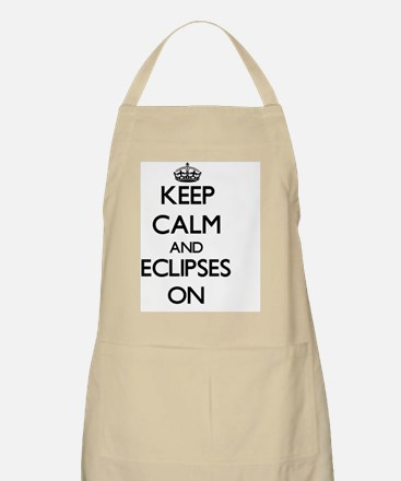 Keep Calm and ECLIPSES ON Apron