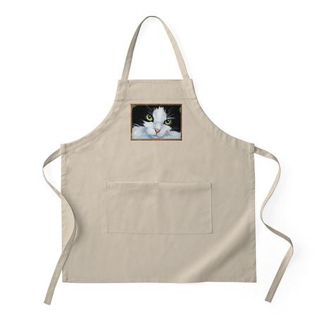 Kitty Eyes BBQ Apron