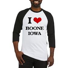 I love Boone Iowa Baseball Jersey