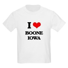 I love Boone Iowa T-Shirt