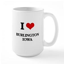 I love Burlington Iowa Mugs