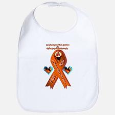 I Choose Hope Over Pain CRPS RSD RIbbon Phoeni Bib