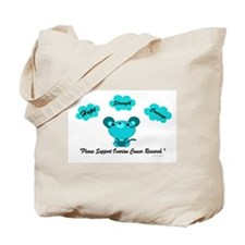 Teal Mouse 1 (OC) Tote Bag