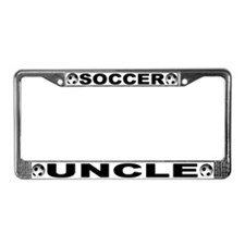World Cup Soccer Uncle License Plate Frame