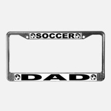 World Cup Soccer Dad License Plate Frame