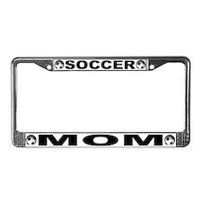 World Cup Soccer Mom License Plate Frame