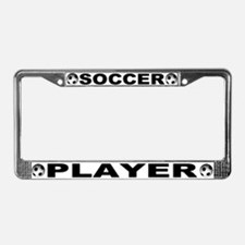 World Cup Soccer Player License Plate Frame