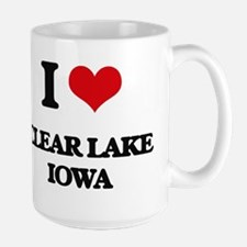I love Clear Lake Iowa Mugs